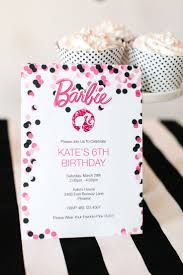 best ideas about printable invitations barbie birthday party printable barbie designs