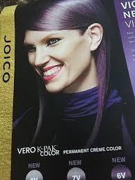 Vero K Pak Color System Chart Haircolor Paper Swatch Chart