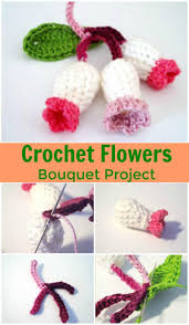 Crochet Flower Pattern Stunning Crochet Flowers 48 FREE Crochet Flower Patterns DIY Crafts
