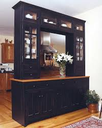 9 custom black pantry cabinetry open to both sides with glass doors 8 custom pantry
