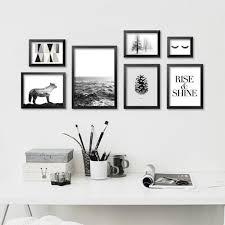 modern black white. Modern Black White Minimalist Art Canvas Print, Abstract M