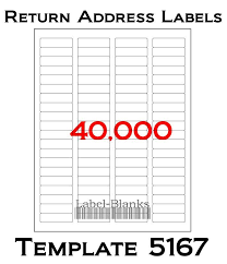 Avery Label 5167 Template Word Avery 5167 Template Word Thefreedl