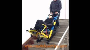 emergency stair chair. Foldable Emergency Evacuation Stair Chair Stretcher For Ambulance In China - YouTube E