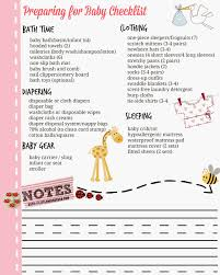Baby Check List Preparing For Baby Checklist A Day In The Life Of This Miss