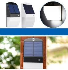 led solar lights radar sensor wall