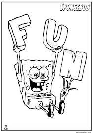 28 Best Spongebob Coloring Pages Free Online Images On Pinterest