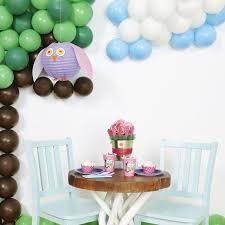 Owl Balloon Decorations Diy Owl Blossom Balloon Decor
