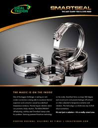 Ideal Tridon Hose Clamp Size Chart Smartseal Tridon Clamp Products Pdf Catalogs Technical