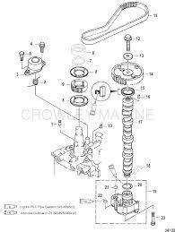 Camshaft oil pump