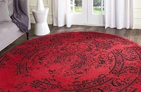 home and furniture picturesque round red rugs on rug com round red rugs