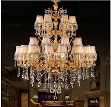 european golden d108cm 30l whole modern clear golden k9 crystal chandelier k9 crystal chandelier e14 led 100 guaranteed farmhouse chandelier modern