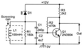 Light Alarm Circuit With Ldr Darlington Phototransistor Type Light Control Switch Circuit
