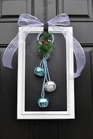 front door hangingsCreative Front Door Christmas Decorations