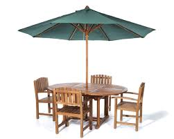 patio table umbrella wood