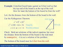 radical equation word problems jennarocca