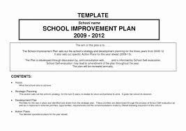 Improvement Plans Templates School Development Plan Template 2012