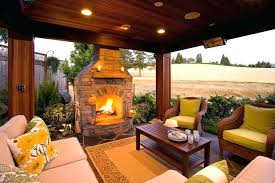 patio fireplaces gas fireplace diy outdoor log lifestyles outside