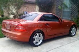 Painted Color #744 MB Benz SLK R170 Convertible Rear Lip Spoiler ...