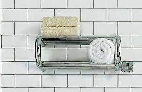 Bath Towel Warmer Rack toasty towels courtesy of warming shelves