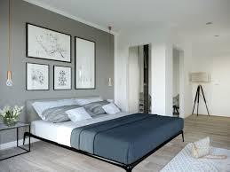 Schlafzimmer Grau Weiß Einrichten Einrichtungsideen Haus Concept M