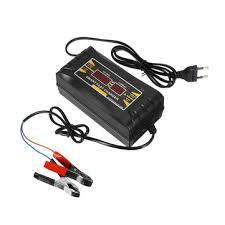 <b>12v 6a</b> smart fast battery charger for car motorcycle <b>lcd display</b> eu ...