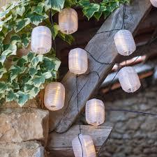 solar garden lantern lights uk home outdoor decoration 10 warm white hummingbird fairy