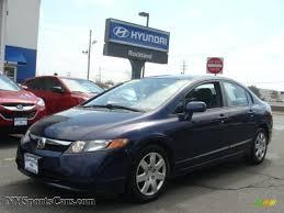 2008 Honda Civic LX Sedan in Royal Blue Pearl - 520258 ...