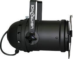 par56 lighting fixture black