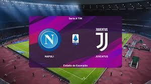 PES 2020   Napoli vs Juventus - Serie A Tim   26/01/2020