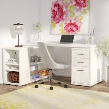 willa arlo interiors drewes l shaped computer desk reviews wayfair with white decorations 8