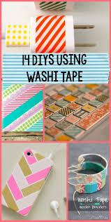 Washi Tape Kitchen Cabinets 14 Washi Tape Diys A Little Craft In Your Daya Little Craft In