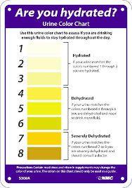 Dehydration Urine Color Chart In Spanish Www