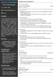 Modern Resume For Product Specialist Technology Resume Examples And Samples
