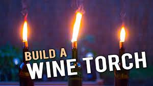 lighting tiki torches. Build A Wine Bottle Tiki Torch Lighting Torches