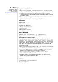 Sales Associate Resume Objective Resume Sample Sales Associate