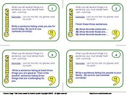 when is a comma used comma task cards 24 cards for applying different comma rules tpt