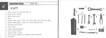 honda305 com forum view topic ca72 77 tool kit discussion ca77 owners manual