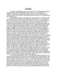 d a r e report on my experience of drug and anti bullying page 1 zoom in