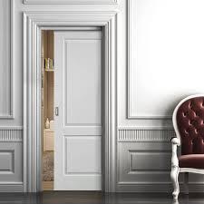 ca white single pocket door jb kind panelled pocket doors