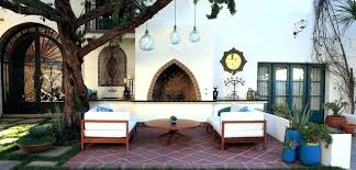moroccan outdoor furniture. Unique Moroccan Outdoor Furniture For Garden Decorating Ideas Eclectic Patio Seating Set 65