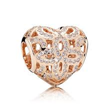 love appreciation charm clear cz pandora rose collection pandora charms with stones