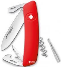 ROZETKA   <b>Швейцарский нож Swiza D03</b> Red (KNI.0030.1000 ...