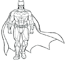 Dc Superhero Coloring Pages Free Printable Superhero Coloring Pages