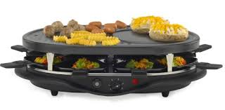 Amazon.com: West Bend 6130 Raclette: Electric Contact Grills: Kitchen &  Dining