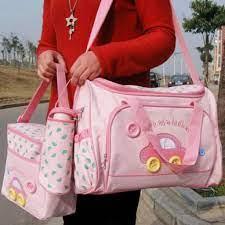 Đừng Bỏ Lỡ -Bộ 3 túi xách cho mẹ và bé hình ôtô Ms-84- SH1911