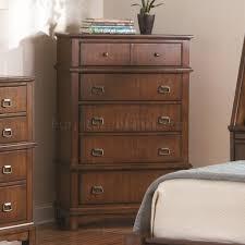 Oak Finish Transitional Bedroom WStorage Bed  Options - Transitional bedroom