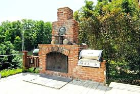outdoor fireplace wood burning outdoor fireplace plans free brick superb wood burning structure portable grille set