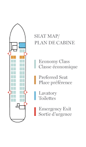 Dhc 8 400 Dash 8q Seating Chart Air Canada Express Jazz Aviation Lp