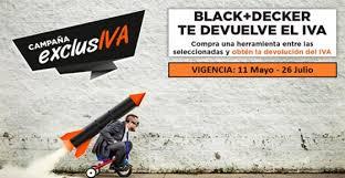 Black+Decker devuelve el IVA en una serie de herramientas seleccionadas