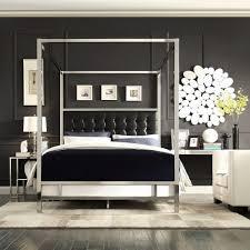 HomeSullivan Taraval Black Queen Canopy Bed-40E739BQ-1BDCPY - The ...
